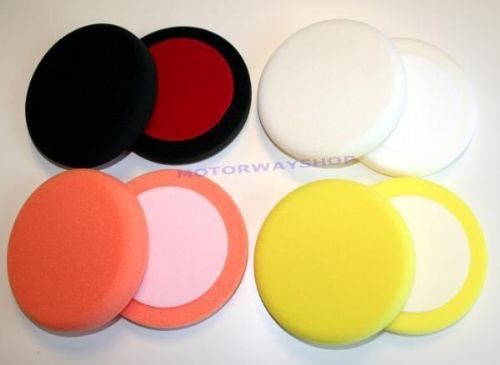 "Set Of 8 Deltalyo 6"" Inch Foam DA Rotary Pads"